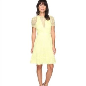 Adelyn Rae Woven Lace Dress